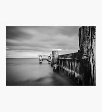 The Old Mentone Pier Photographic Print