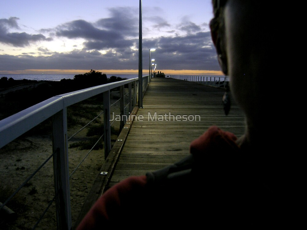 down to the sea again by Janine Matheson
