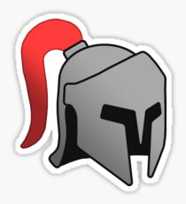 Iron Helmet Sticker
