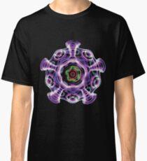 Cymatic Rainbow Mandala Yoga T Shirt Mens Womens Classic T-Shirt