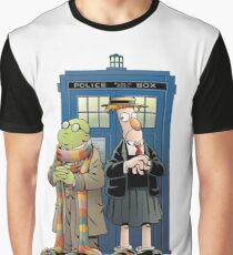 Doctor Who The Muppets Graphic T-Shirt