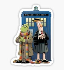Doctor Who The Muppets Sticker