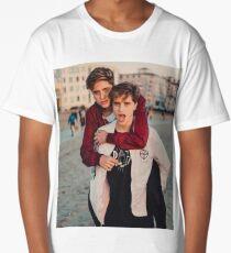 piggy ride martinez Long T-Shirt