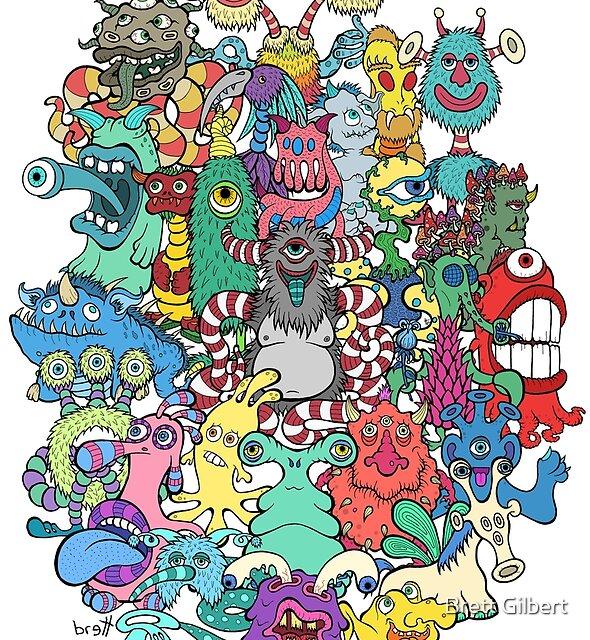 Monsters by Brett Gilbert