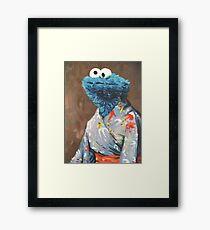 Kimono Monster Framed Print