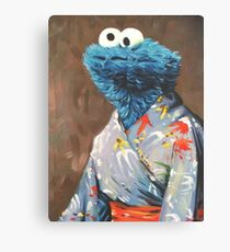 Kimono Monster Canvas Print