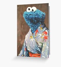 Kimono Monster Greeting Card
