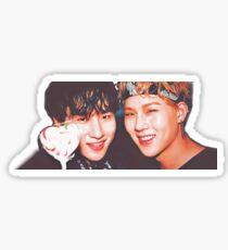 """""""Be My Friend"""", Jooheon & IM Sticker Sticker"""