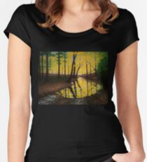 Fall Creek Women's Fitted Scoop T-Shirt