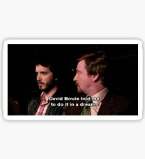 Flight of the Conchords Bowie Sticker