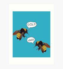Golf Wang Scum Fuck  Bees Art Print