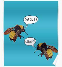 Golf Wang Scum Fuck  Bees Poster
