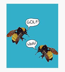 Golf Wang Scum Fuck  Bees Photographic Print