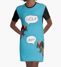 Golf Wang Scum Fuck  Bees Graphic T-Shirt Dress