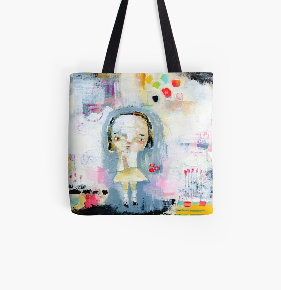 Five All Over Print Tote Bag