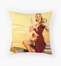 Gil Elvgren Pin up Throw Pillow