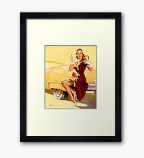 Gil Elvgren Pin up Framed Print