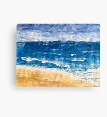 Sea Shore Canvas Print