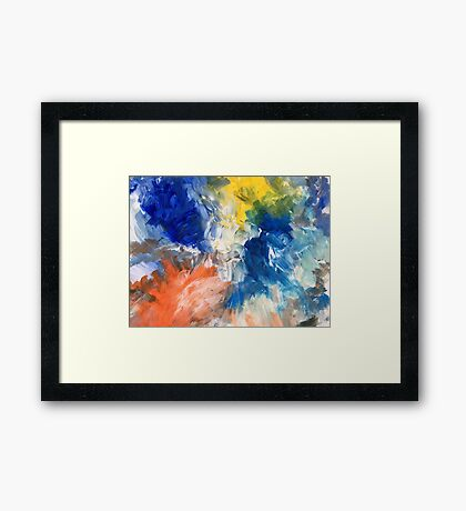 Colours Unlimited Framed Print