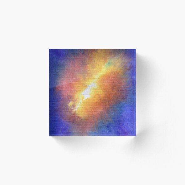 ColorBurst Acrylic Block