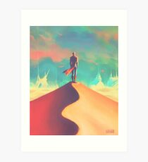 To dust Art Print