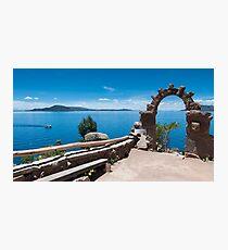 Lake Titicaca - Taquile Island, Peru Photographic Print