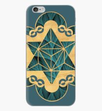 Eternal Star - Design from an actual Crop Circle iPhone Case