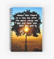 Look foward Spiral Notebook