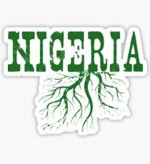 Nigeria Roots Sticker