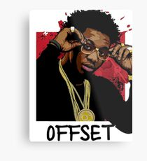 The swaggie offset Metal Print
