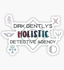 Dirk Gently's Holistic Detective Agency Sticker