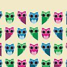owls by claclina