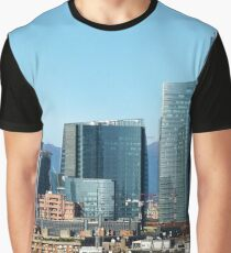 Milan Italy Skyline  Graphic T-Shirt