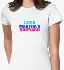 CUON MARTHAs VINEYARD Womens Fitted T-Shirt