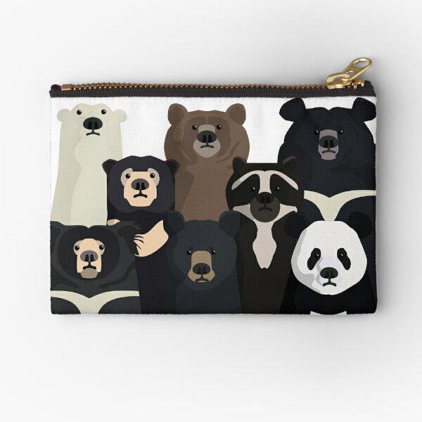 Bears of the world Zipper Pouch