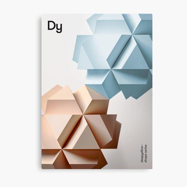 Dy Metal Print