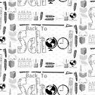 Back to school & Teachers Stickers by aldona