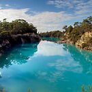 Little Blue Lake, Tasmania by Christine Smith