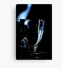 A glass without wine Canvas Print