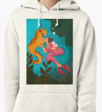 A Girl and her Eel Pullover Hoodie