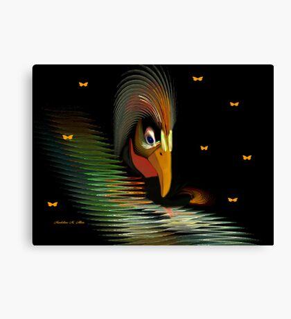 CHICKEN-HAWK Canvas Print