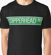 008 Copperhead Road street sign Graphic T-Shirt