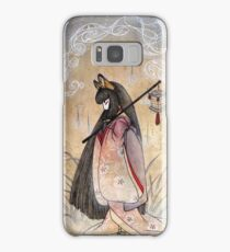 Bad Thoughts - Kitsune Fox Yokai  Samsung Galaxy Case/Skin
