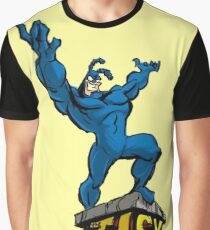 The Man In Blue The Tick Graphic T-Shirt