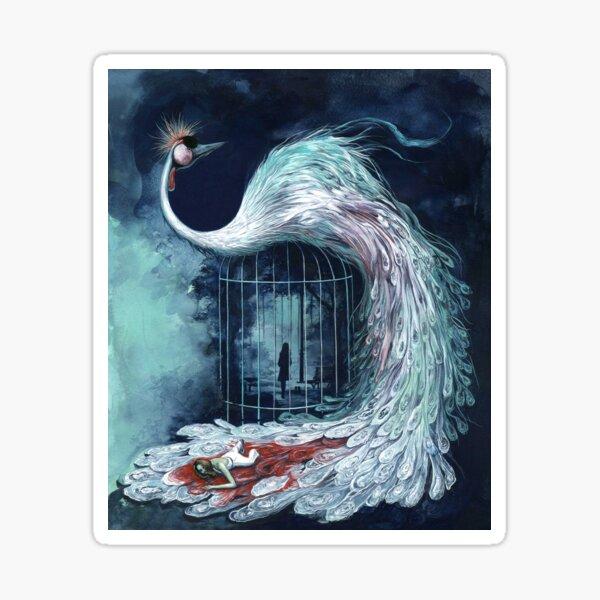 The Bird with the Crystal Plumage - Arrow Art 2017 Sticker