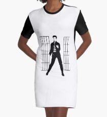 elvis jailhouse  Graphic T-Shirt Dress
