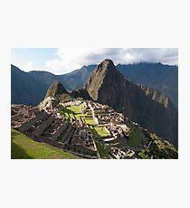 Classic Machu Picchu - Peru Photographic Print