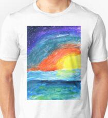 Brilliant Sunset over the Ocean T-Shirt