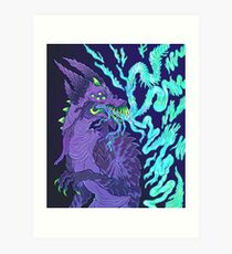 Tendril Breath Art Print