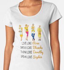 Golden Life Tips Women's Premium T-Shirt